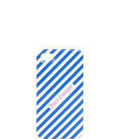 Cheap Juicy Couture Juicy Diagonal Stripe Iphone Case Bright Lapis