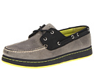 Sperry Top-Sider - Sperry Cup 2-Eye (Grey/Black) - Footwear