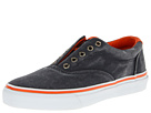 Sperry Top-Sider - Striper Laceless CVO Canvas Neon (Navy/Orange)