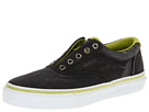 Sperry Top-Sider - Striper Laceless CVO Canvas Neon (Black/Citron)