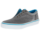 Sperry Top-Sider - Striper Laceless CVO Canvas Neon (Grey/Blue)