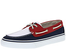 Sperry Top-Sider - Bahama 2-Eye (Navy/Red/Khaki)