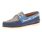 Sperry Top-Sider - Gold A/O 2-Eye (Navy/Light Blue/Grey)