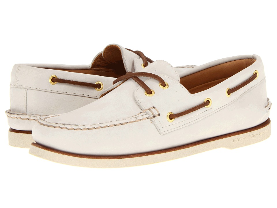 Sperry Top-Sider - Gold A/O 2-Eye (Ivory) Men