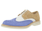 Sperry Top-Sider - Gold Ox Wingtip w/ASV (Sky Blue/ Ivory/Tan)