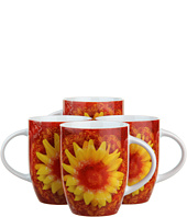 Waechtersbach - Set of 4 Floral Mugs