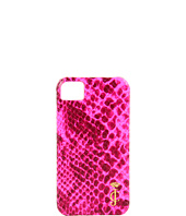 Cheap Juicy Couture Python Print Phone Leather Hard Case Pink Cerise