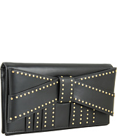Z Spoke ZAC POSEN - Shirley Bow Clutch Studded