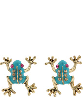 Betsey Johnson - Frog Stud Earrings