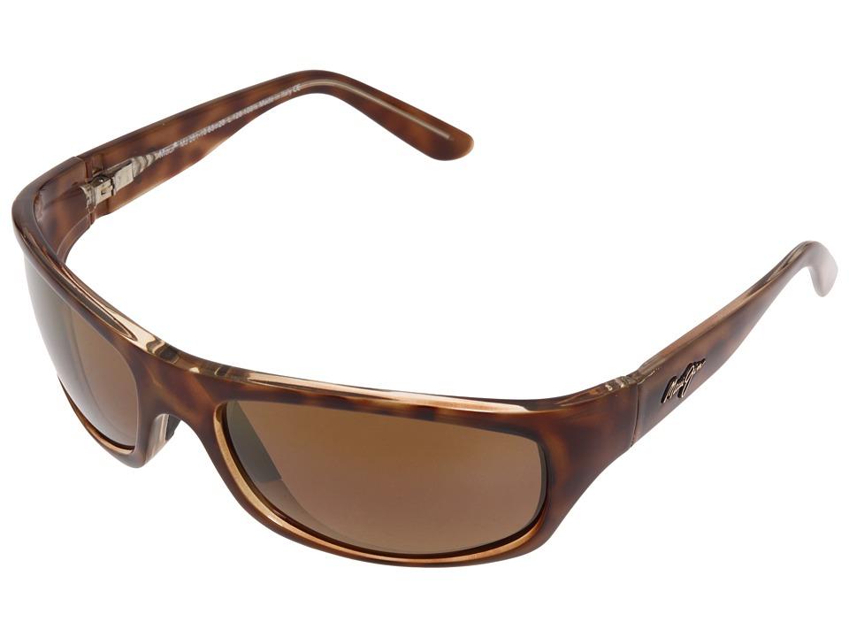 Maui Jim Surf Rider Tortoise/HCL Bronze Sport Sunglasses
