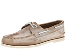 Sperry Top-Sider - A/O 2-Eye White Wash (Tan)