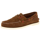 Sperry Top-Sider - A/O 2-Eye Perfed Suede (Tan Suede)