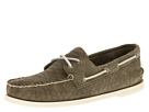 Sperry Top-Sider - A/O 2-Eye Python Emboss (Olive)