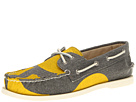 Sperry Top-Sider - A/O 2-Eye Painted Canvas (Yellow/Gray)