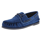 Sperry Top-Sider - A/O 2-Eye Velvet (Navy)