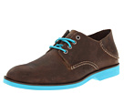Sperry Top-Sider - Boat Oxford Neon (Brown/Blue)