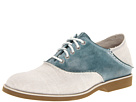 Sperry Top-Sider - Boat Oxford Saddle (Natural Canvas/Blue)