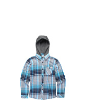 O'Neill Kids - Revive L/S Hooded Flannel Shirt (Big Kids)