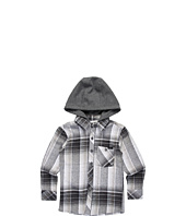O'Neill Kids - Revive L/S Hooded Flannel Shirt (Little Kids)