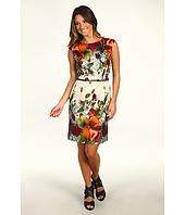 Ellen Tracy - Baja Border Sheath Dress