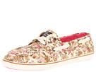 Sperry Top-Sider - Cruiser 3-Eye (Tan Ditsy Floral)