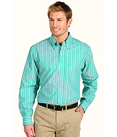 IZOD - Long Sleeve Multi Stripe Button Down
