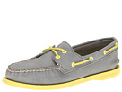 Sperry Top-Sider - A/O 2 Eye (Charcoal (Yellow))