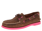 Sperry Top-Sider - A/O 2 Eye (Dark Brown (Fuchsia))