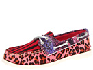 Sperry Top-Sider - A/O 2 Eye (Berry Multi-Animal Print)
