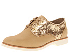 Sperry Top-Sider - Delancey (Tan/Gold Glitter) - Footwear
