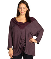 XCVI Plus Size - Plus Size Ashbury Cowl Top