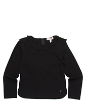 Juicy Couture Kids - Pleated Detail Knit Top (Toddler/Little Kids/Big Kids)