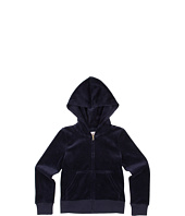 Juicy Couture Kids - Embellished Sparkle Velour Hoodie (Little Kids/Big Kids)