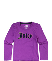 Juicy Couture Kids - Juicy Couture Boucle L/S Tee (Toddler/Little Kids/Big Kids)