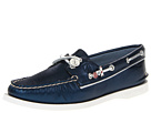 Sperry Top-Sider - A/O 2 Eye (Navy Metallic (STS Beads)) - Footwear