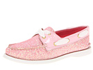 Sperry Top-Sider - A/O 2 Eye (Rose Glitter/Patent)