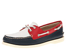 Sperry Top-Sider - A/O 2 Eye (Navy/Red/White)