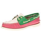Sperry Top-Sider - A/O 2 Eye (Pink/Green/White)
