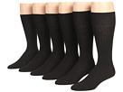 Ecco Socks Dress Wool Rib Midcalf 6-Pack