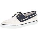 Sperry Top-Sider - Bahama 2-Eye (White/Navy 2) - Footwear