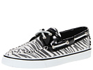 Sperry Top-Sider - Bahama 2-Eye (Black/White (Sequins)) - Footwear
