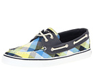 Sperry Top-Sider - Bahama 2-Eye (Navy/Yellow Plaid)