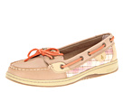 Sperry Top-Sider - Angelfish (Linen/Coral Plaid (Sequins))