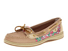 Sperry Top-Sider - Angelfish (Linen/Berry Floral (Sequins))