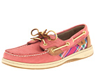 Sperry Top-Sider - Bluefish 2-Eye (Washed Red/Shantung Plaid) - Footwear