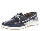 Sperry Top-Sider - Bluefish 2-Eye (Navy/Plaid (Sequins))