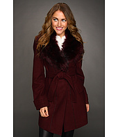 Vince Camuto - Faux Fur Collar Coat