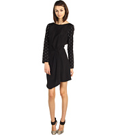 Tibi - Stud Beading Drape Dress