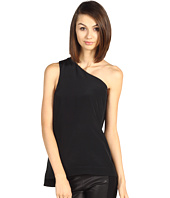 Tibi - Mila Silk One Shoulder Top