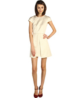 Tibi - Anais Jacquard Cap Sleeve Dress